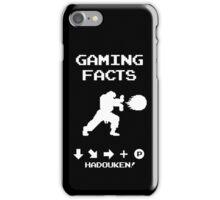 Gaming Facts Hadouken iPhone Case/Skin
