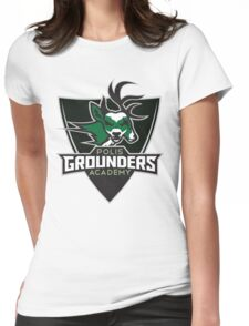 Polis Academy Grounders Shield Womens Fitted T-Shirt