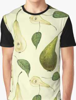 Watercolor pattern with pears Conference.  Graphic T-Shirt