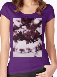 Japanese Cherry Tree Women's Fitted Scoop T-Shirt