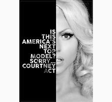 Courtney Act Text Portrait T-Shirt