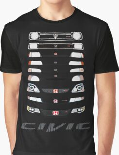 Honda Civic (Black) Graphic T-Shirt