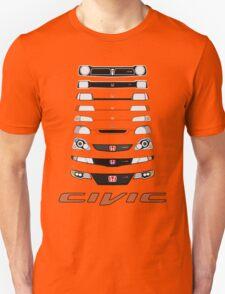 Honda Civic (Black) Unisex T-Shirt
