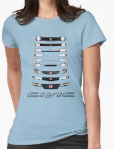 Honda Civic (Black) Womens T-Shirt