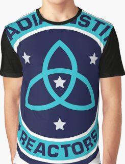 Arkadia Institute Reactors Graphic T-Shirt