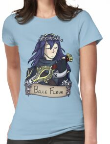 Lucina - Beautiful Flower Womens Fitted T-Shirt
