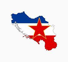 Flag-map of Yugoslavia Unisex T-Shirt