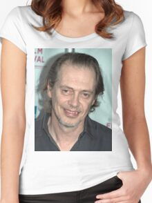 Steve Buscemi Women's Fitted Scoop T-Shirt