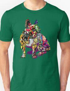 Graffiti Bulldog Unisex T-Shirt