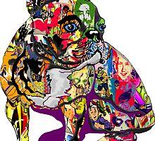 Graffiti Bulldog by rlnielsen4