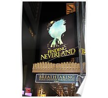 NYC Finding Neverland Broadway Poster