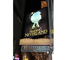 NYC Finding Neverland Broadway Photographic Print