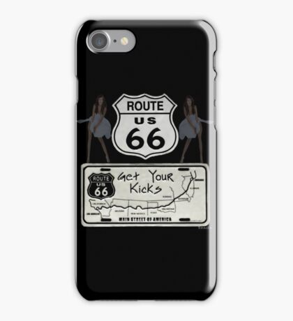 (◡‿◡✿) (◕‿◕✿) GeT YoUr KiCks On RoUtE 66 (◡‿◡✿) (◕‿◕✿) iPhone Case/Skin