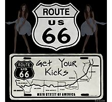 (◡‿◡✿) (◕‿◕✿) GeT YoUr KiCks On RoUtE 66 (◡‿◡✿) (◕‿◕✿) Photographic Print