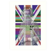 God Shave the Queen! Art Print