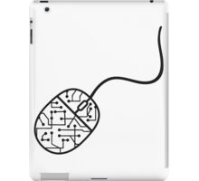 microchip data electronic cool design mouse control computer cable click pc computer online computer mouse iPad Case/Skin