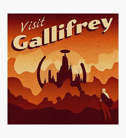 Travel to Gallifrey Photographic Print