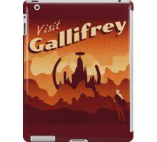 Travel to Gallifrey iPad Case/Skin