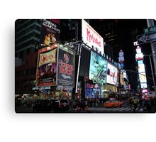 NYC Times Square Artwork Canvas Print