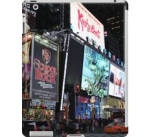 NYC Times Square Artwork iPad Case/Skin