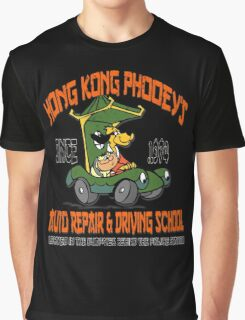 Hong Kong Phooey's Auto Repair & Driving School Graphic T-Shirt