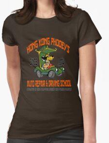Hong Kong Phooey's Auto Repair & Driving School Womens Fitted T-Shirt