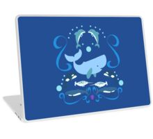 Having a whale of a time Laptop Skin