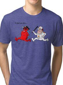 il était une fois... Blue Meth Tri-blend T-Shirt