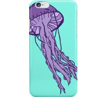 Purple Jellyfish iPhone Case/Skin