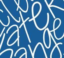 Clean Water Sticker