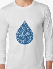 Clean Water Long Sleeve T-Shirt