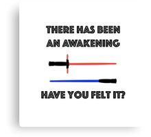 An Awakening Canvas Print