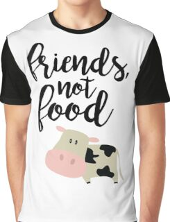 Friends Not Food - Vegan  Graphic T-Shirt