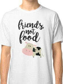 Friends Not Food - Vegan  Classic T-Shirt