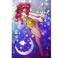 Stars and Moon Fairy Photographic Print