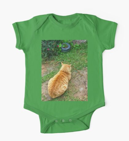 When your cat is angry with you. One Piece - Short Sleeve