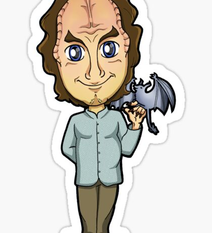 Star Trek Enterprise - Dr. Phlox the Denobulan and his Pyrithian Bat Sticker
