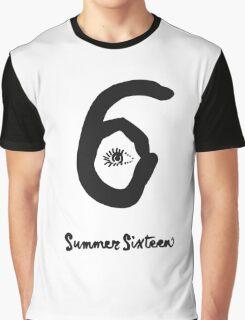 DRAKE SIX 6 Summer sixteen Graphic T-Shirt