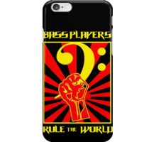 Bass Players - Rule The World iPhone Case/Skin