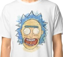 Rick Sanchez Acrylic Portrait (Rick and Morty) Classic T-Shirt