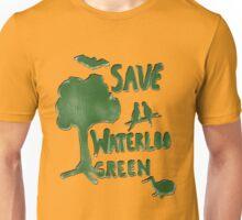 Save Waterloo Green Unisex T-Shirt