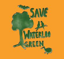 Save Waterloo Green Unisex T-Shirt