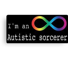 Autistic Sorcerer Canvas Print