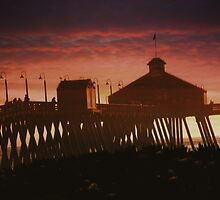 Memories Of The Pier ~ Imperial Beach, California, USA by Marie Sharp