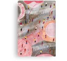 Busy Canvas Print