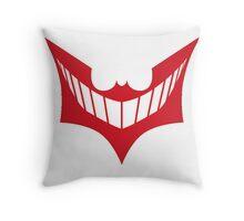 Joker behind Batman Throw Pillow
