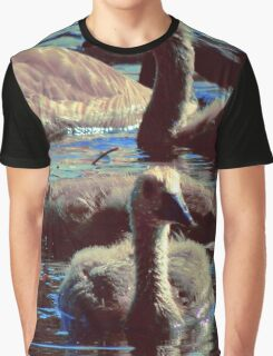 Baby Geese Graphic T-Shirt
