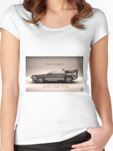 No Roads Women's Fitted Scoop T-Shirt