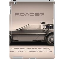 No Roads iPad Case/Skin