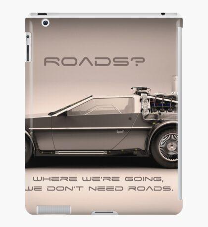 No Roads iPad Case/Skin